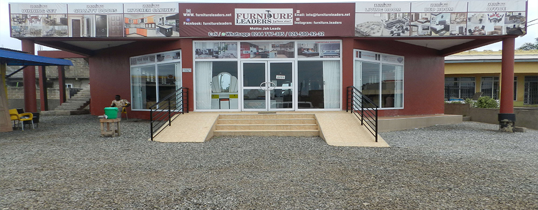 Our showroom at Teshie, Accra
